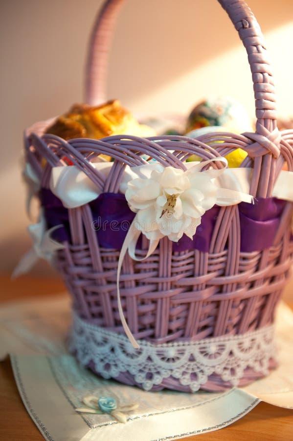 Download Easter basket stock photo. Image of season, design, basket - 23190764