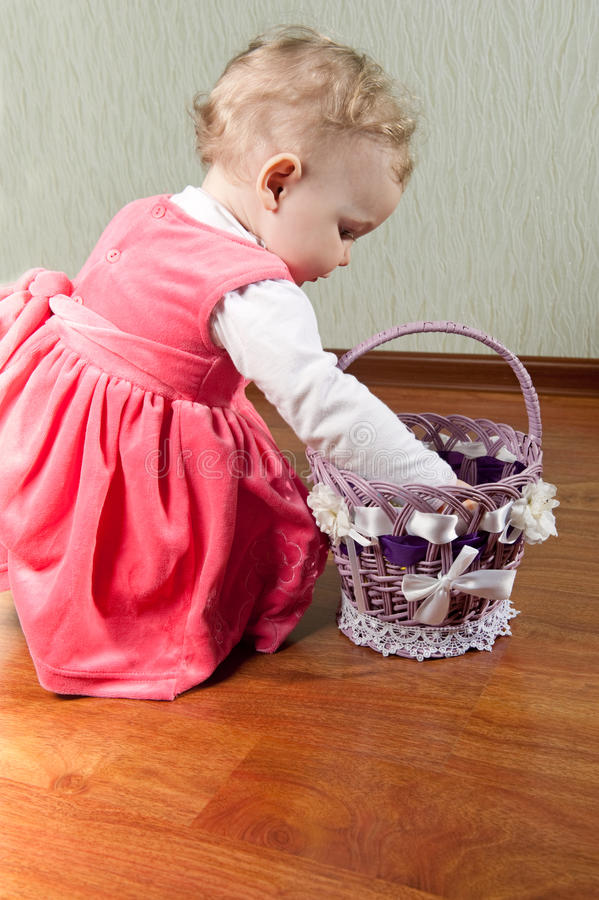 Download Easter basket stock photo. Image of happiness, easter - 23995596