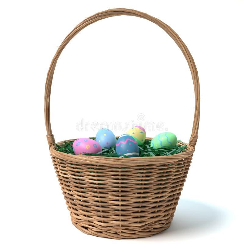 Free Easter Basket Stock Photos - 51508533