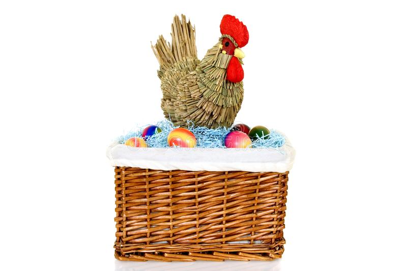 Download Easter basket stock photo. Image of symbol, colored, consumption - 8489552