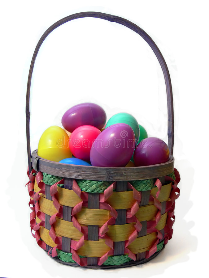 Download Easter Basket stock image. Image of hunt, background, colored - 954097