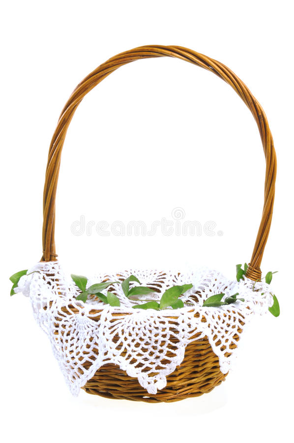 Download Easter Basket And Dyed Eggs Royalty Free Stock Photo - Image: 23532845