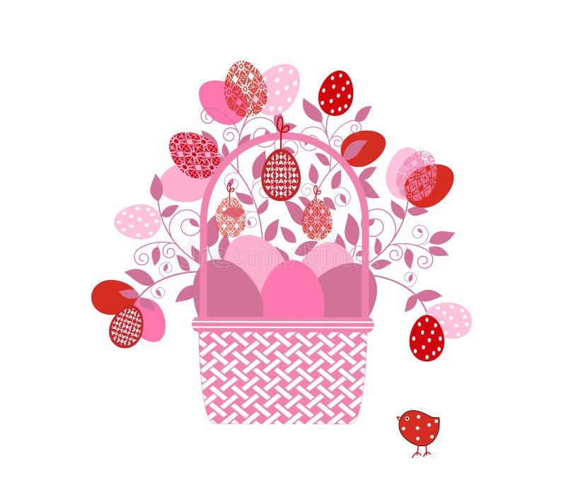 Download Easter Basket flourish stock vector. Image of background - 38861899