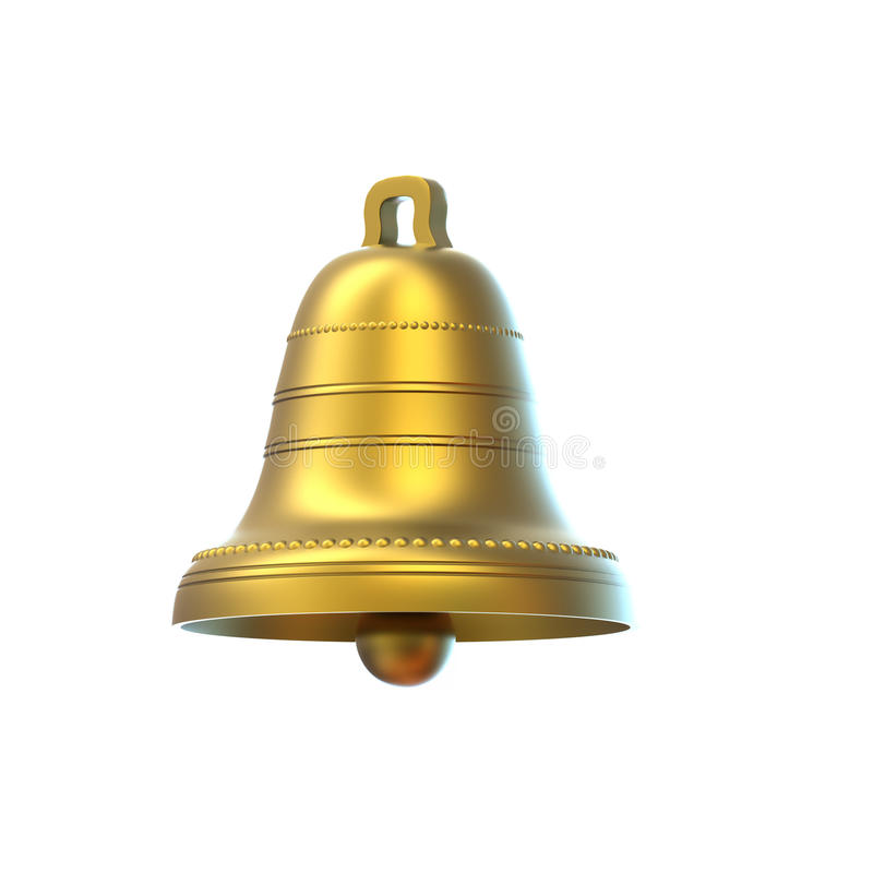 Free Easter Bell Isolated On White Background Royalty Free Stock Photography - 13963757