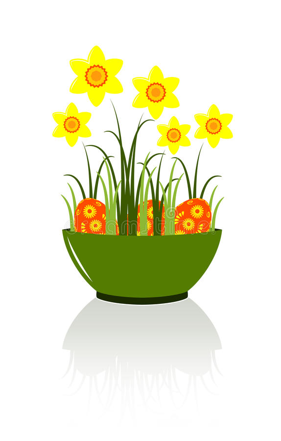 Easter Bowl Royalty Free Stock Photography