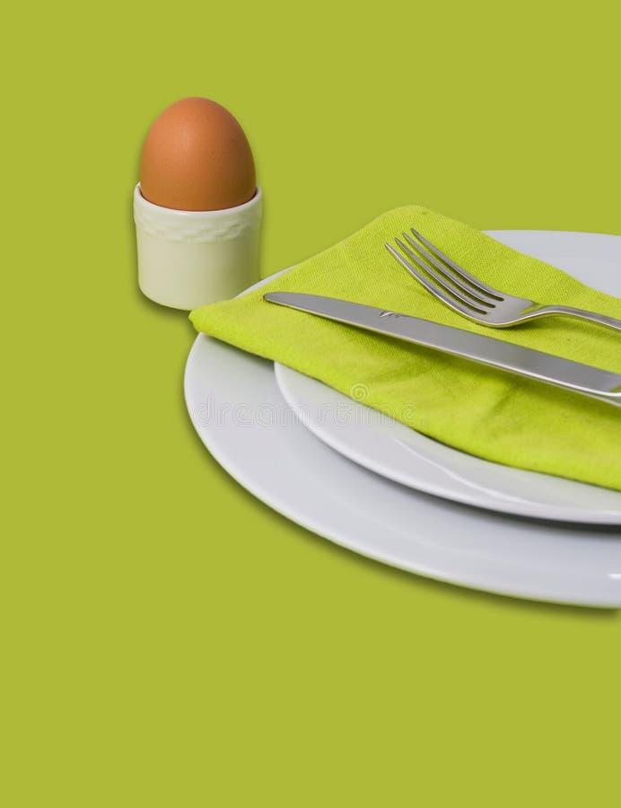 Easter breakfast stock image