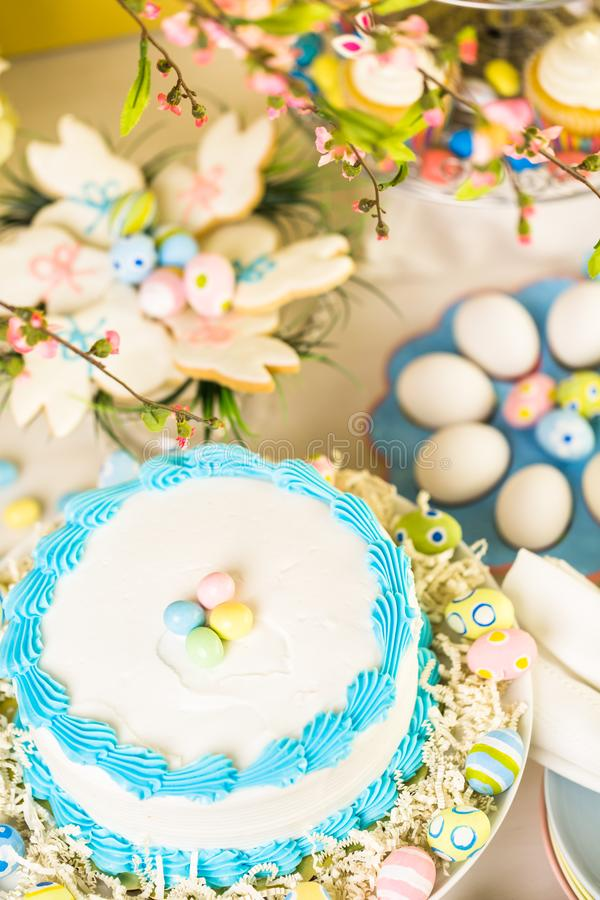 Easter brunch royalty free stock images