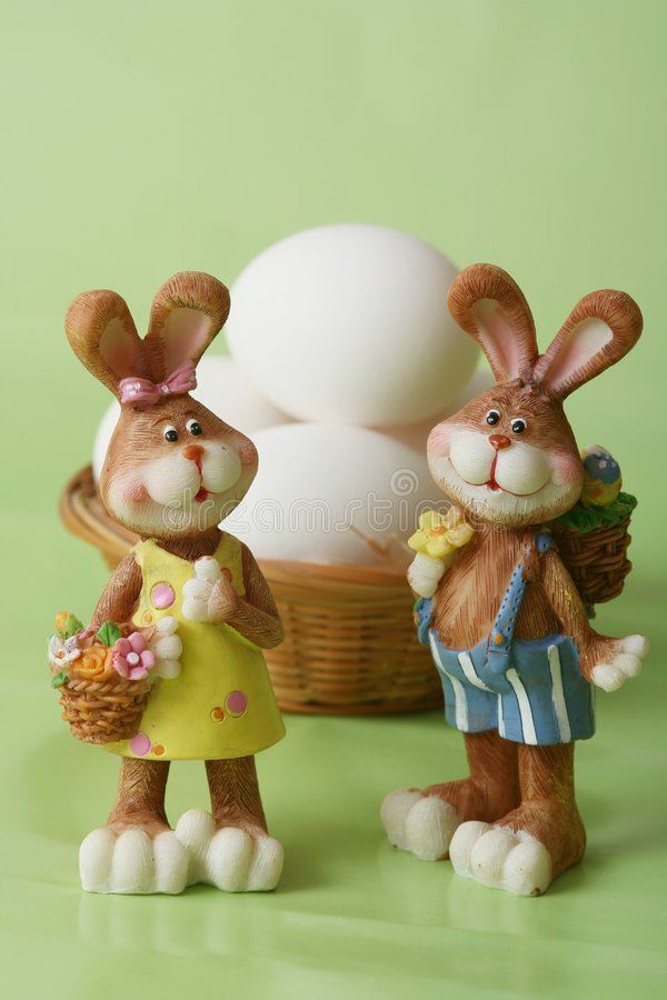 Download Easter Bunnies Royalty Free Stock Photo - Image: 4313535