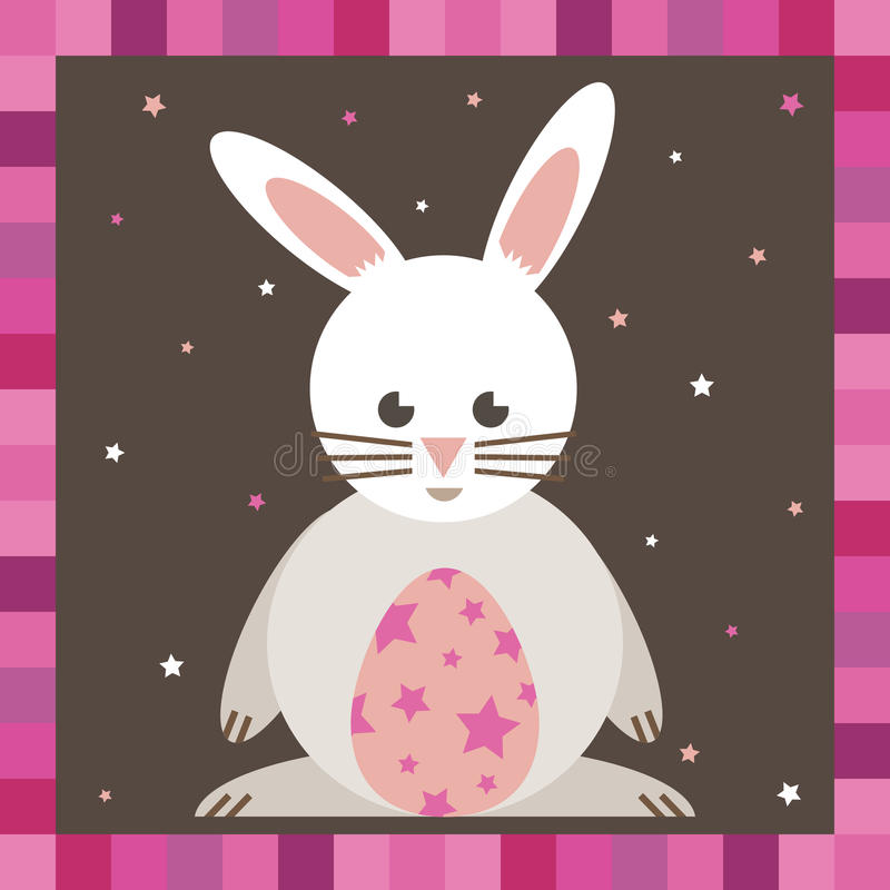 Download Easter bunny stock vector. Illustration of concept, border - 13487158