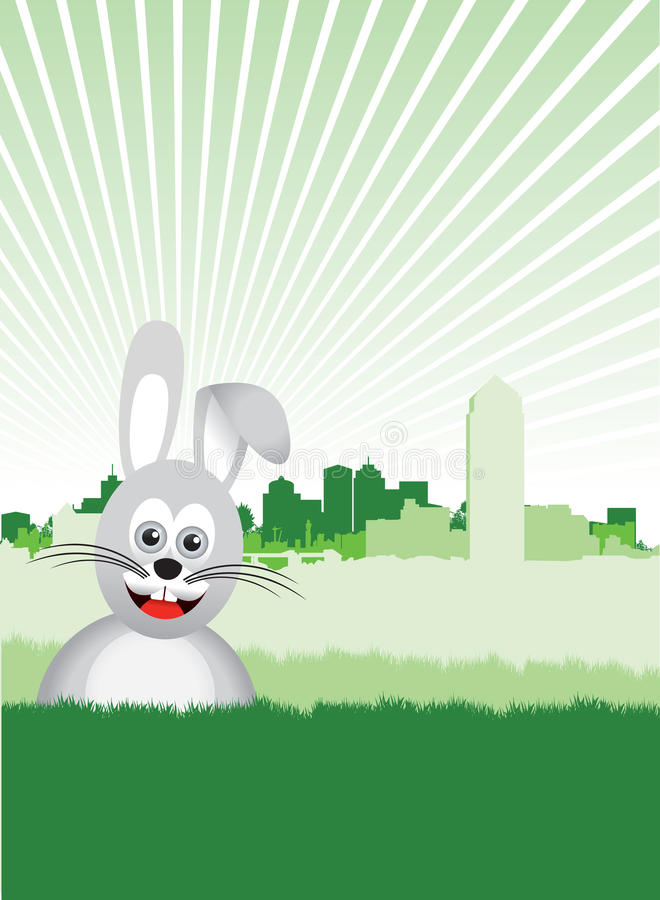 Download Easter bunny stock vector. Image of bean, built, pollute - 18204052