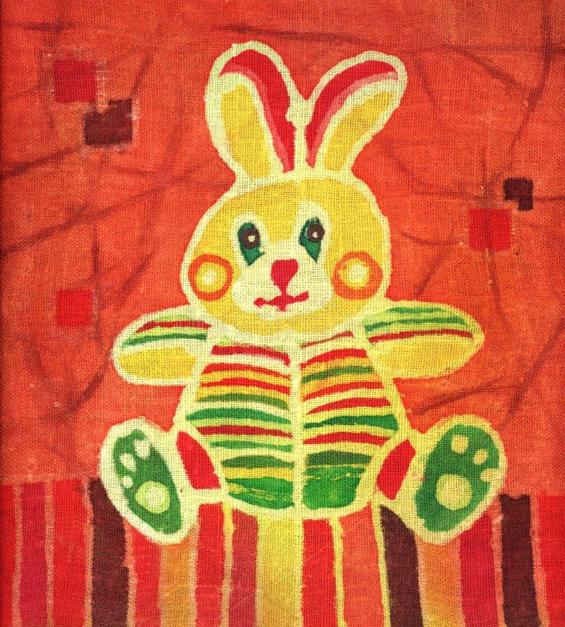 Download Easter bunny stock illustration. Illustration of batik - 2625198