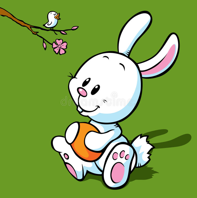 Download Easter bunny stock vector. Illustration of animal, rabbit - 26876829