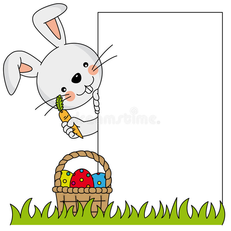 Download Easter bunny stock vector. Image of cartoon, happiness - 28626101