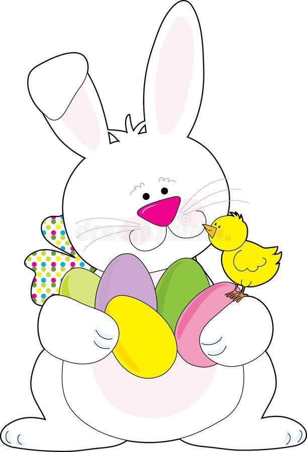 Free Easter Bunny Royalty Free Stock Photo - 4415555