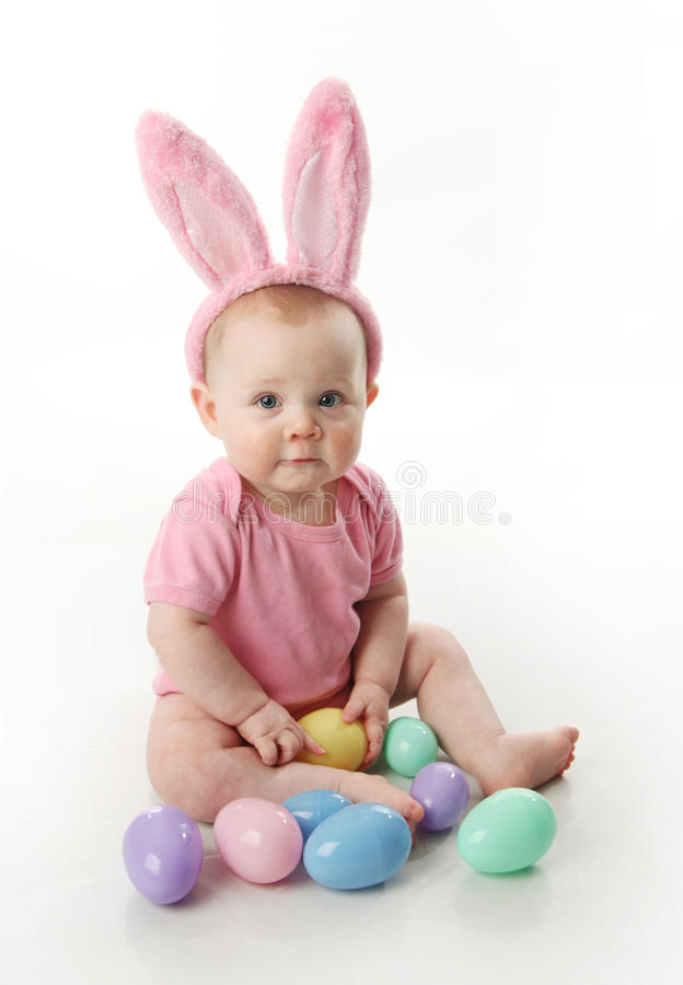 Download Easter bunny baby stock photo. Image of head, masquerade - 18909564