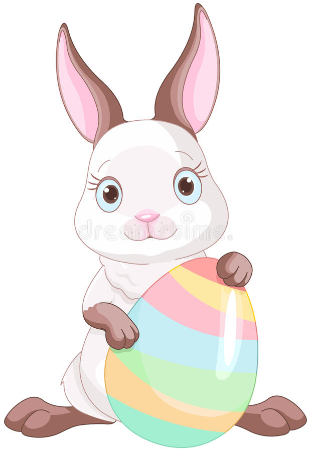 Easter Bunny royalty free illustration
