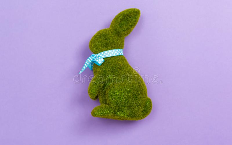Easter bunny holiday theme royalty free stock photos
