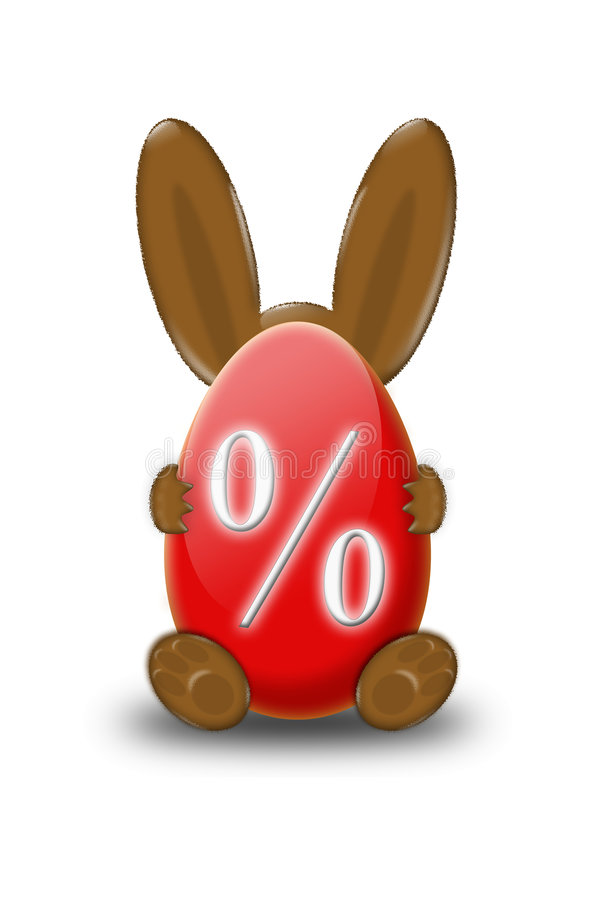Easter bunny discount vector illustration
