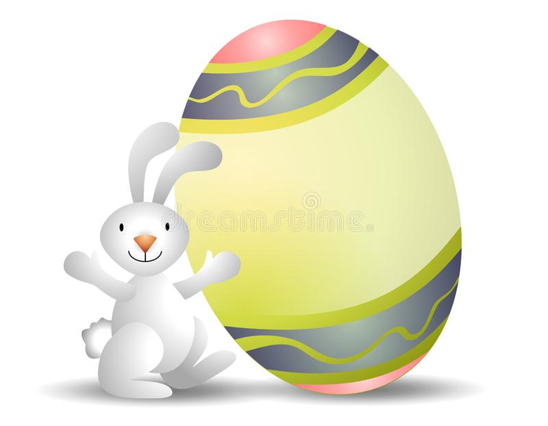 Easter Bunny Easter Egg Stock Photography