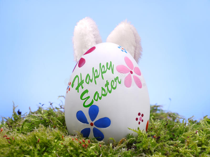 Download Easter bunny and egg stock photo. Image of season, holidays - 23904210
