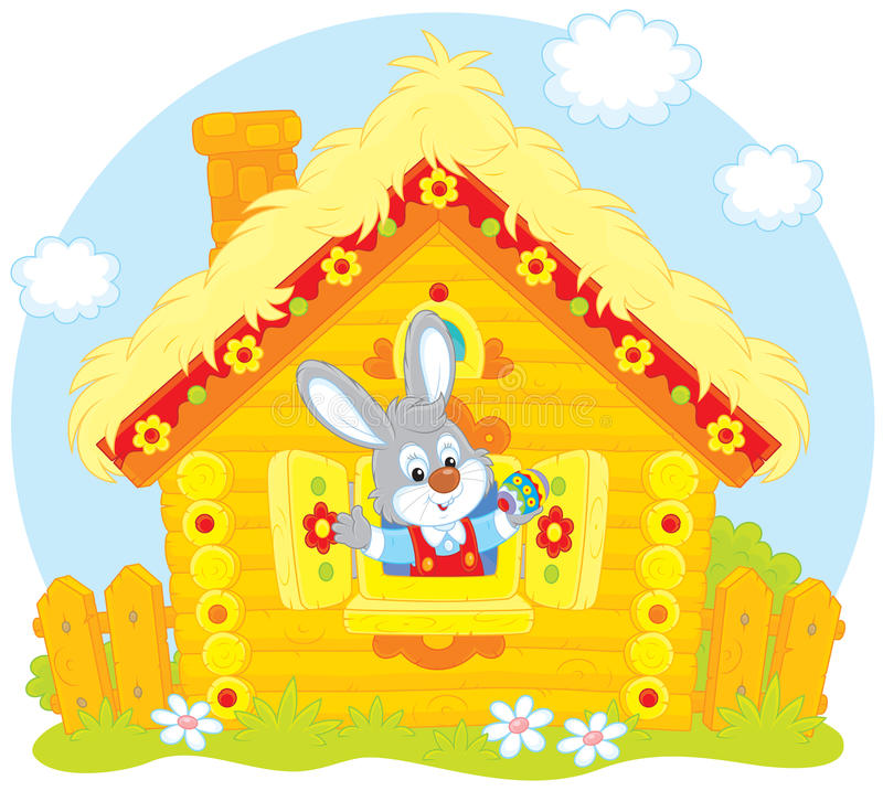 Easter Bunny Stock Illustration