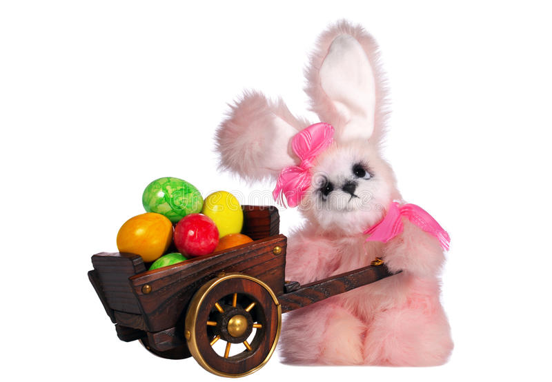 Download Easter bunny rabbit stock photo. Image of colored, image - 23791058