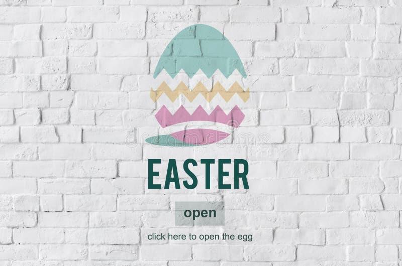 Easter Bunny Rabbit Spring Season Tradition Egg Concept stock photography