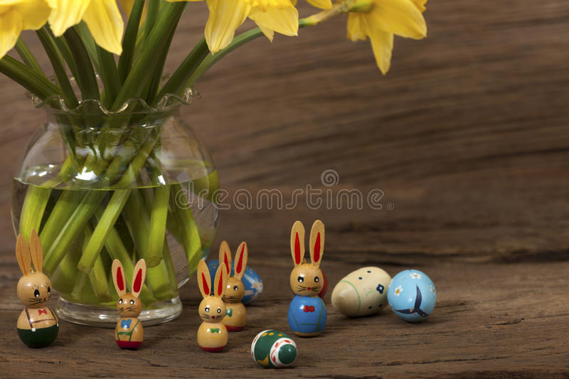 Download Easter Bunny Under Daffodils Stock Images - Image: 29165704