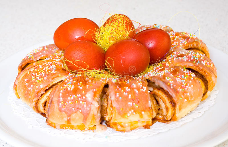 Download Easter cake stock image. Image of biscuit, arrangement - 23425965