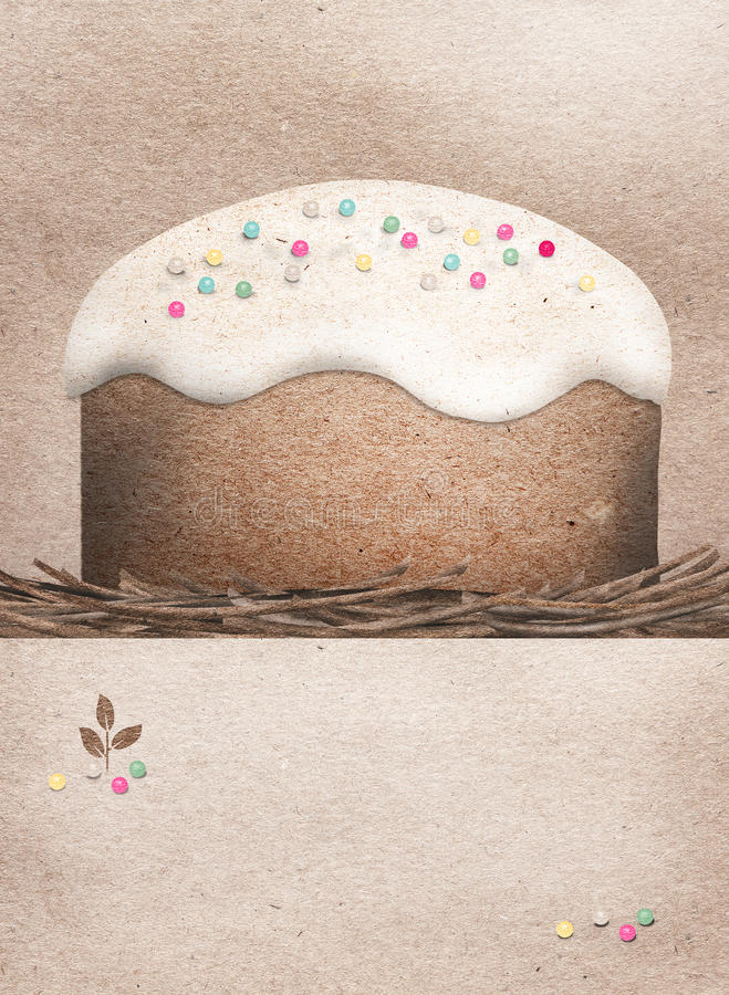 Download Easter cake stock illustration. Image of traditional - 29686063