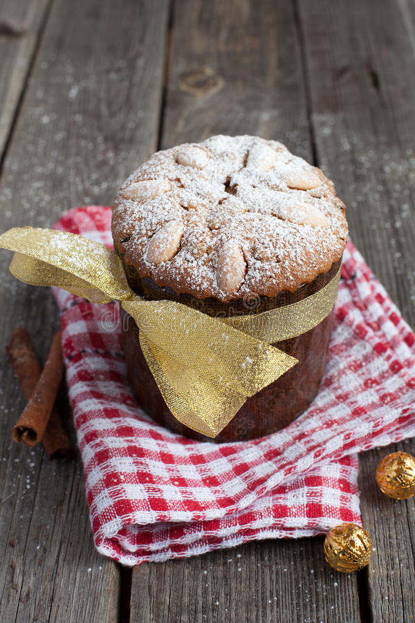 Easter cake, panettone royalty free stock images