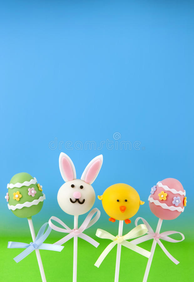 Download Easter cake pops stock photo. Image of fondant, chicken - 23348992