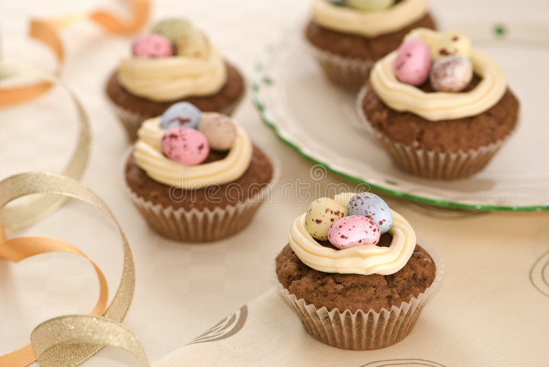 Download Easter Cakes stock photo. Image of cupcake, decorations - 6905506
