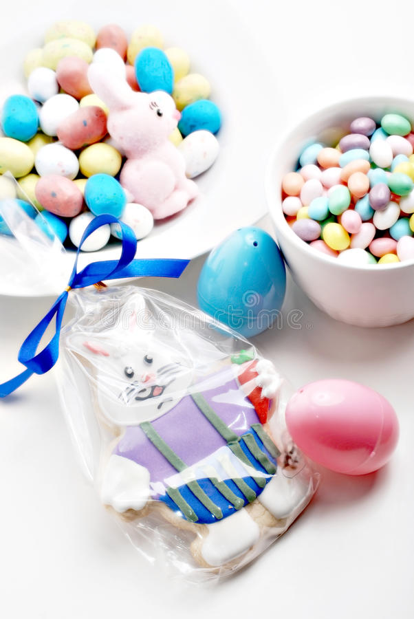 Easter candy stock photo