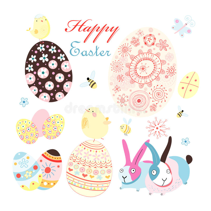 Easter card with
