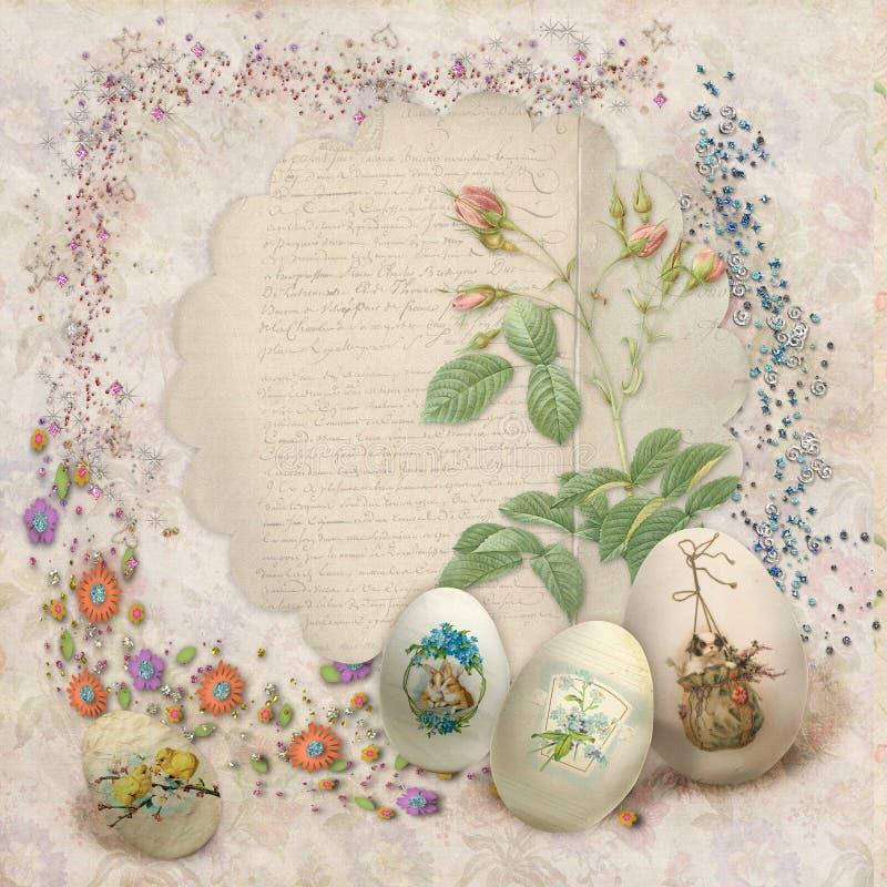 Download Easter card stock illustration. Image of arrangement - 29479471