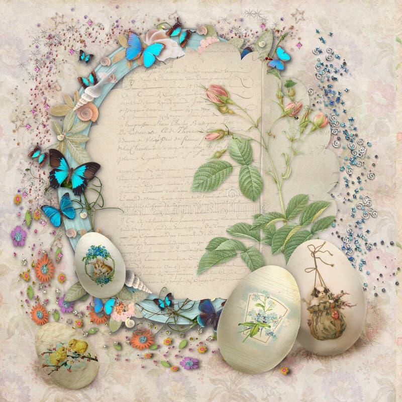 Download Easter card stock illustration. Illustration of love - 29479488