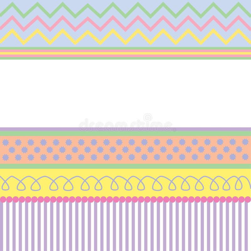 Easter Card Pattern stock photos