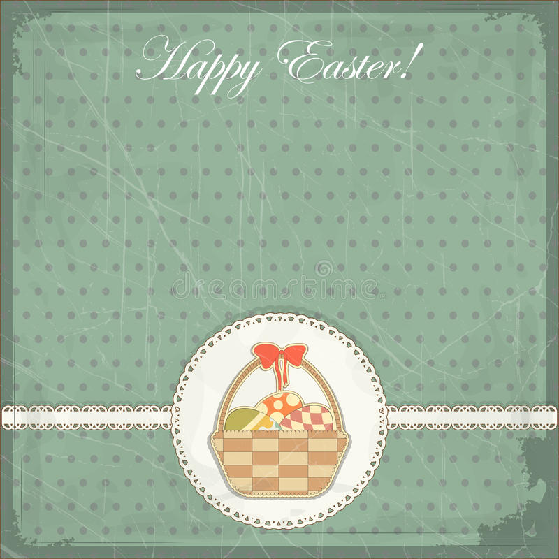 Download Easter Card In Vintage Style Stock Vector - Image: 22891473
