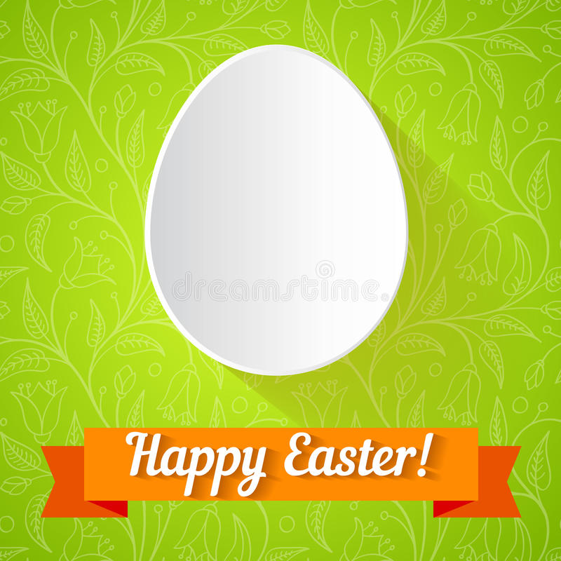 Easter Card Stock Vector