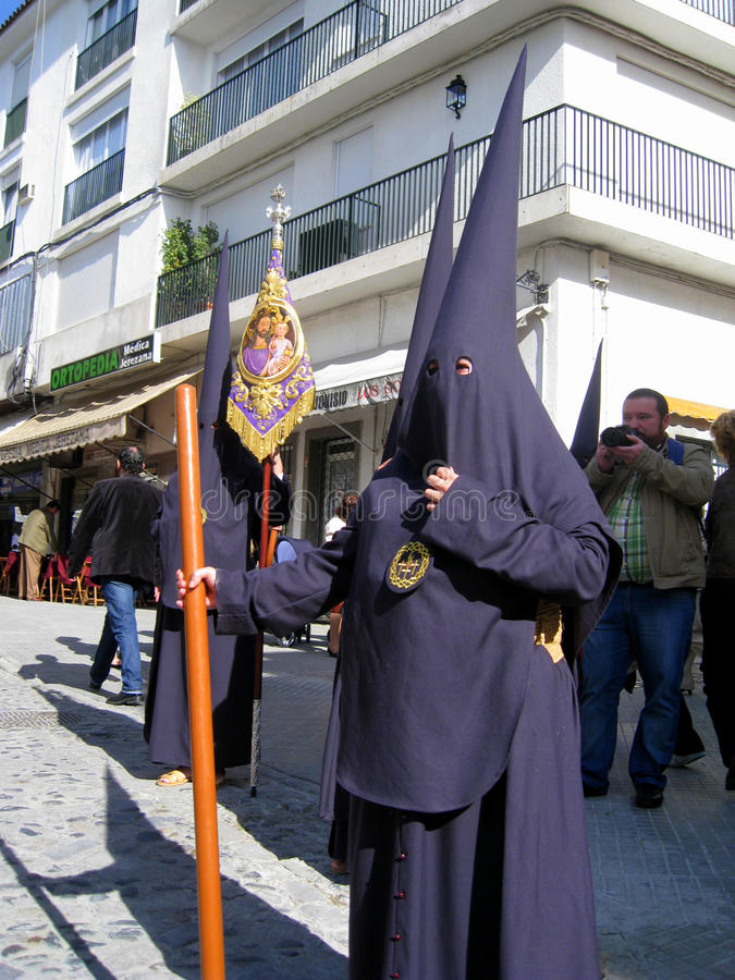 Download EASTER CELEBRATION PARADE IN JEREZ, SPAIN Editorial Stock Image - Image: 13957049