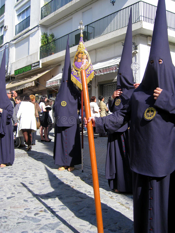 Download EASTER CELEBRATION PARADE IN JEREZ, SPAIN Editorial Photo - Image of ancient, fervour: 13957061