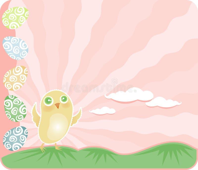 Download Easter Chick stock illustration. Illustration of spring - 2120961