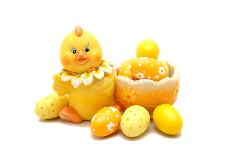 Download Easter chick stock image. Image of chick, cute, yellow - 2306579