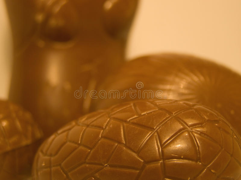 Easter chocolate stock images