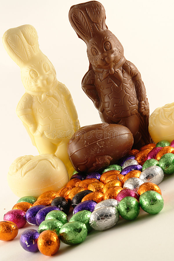 Easter Chocolate stock photography