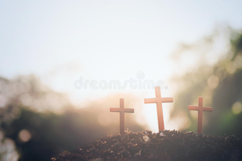 Easter , Christianity copyspace background. royalty free stock photography