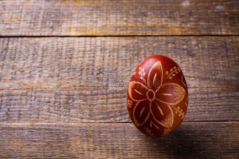 Easter coloriu o ovo imagens de stock