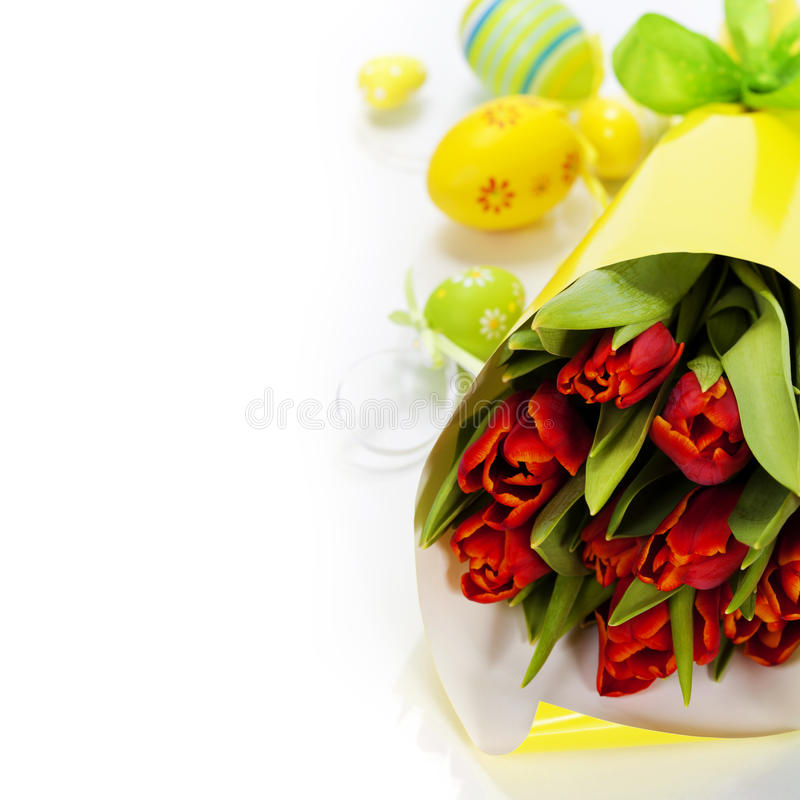 Download Easter composition stock photo. Image of bloom, leaf - 28765340