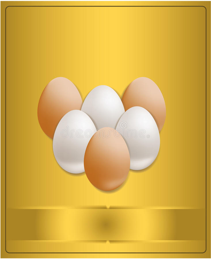 Download Easter Congratulations Gold Stock Vector - Illustration of picture, poster: 18312630